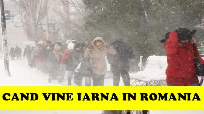 Avertisment de ultim moment al meteorologilor! Când vine iarna în România! Alertă ANM