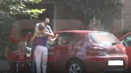 Doi actori celebri din România surprinși sărutându-se pe stradă! Și-au înșelat soții în văzul tuturor?