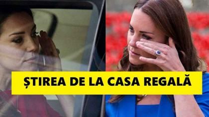 Da, este adevărat! Știrea confirmată de Casa Regală după ce s-a aflat că ducesa Kate e gravidă. Așa ceva foarte rar!