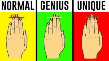Ce spun mainile despre tine si personalitatea ta. Lungimea degetelor spune TOTUL despre un om