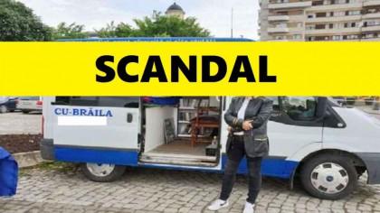 """Scandal cu """"Ambulanța Neagră"""". Cine este posesorul ambulanței"""