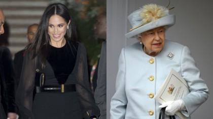 Cum a reacționat Regina când a aflat că Meghan Markle este însărcintă! Ce a făcut ..