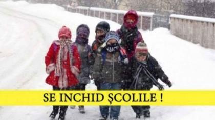 Se închid școlile! Cursurile au fost suspendate în toate școlile