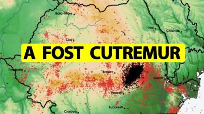 Cutremur mare azi-noapte, la ora 02:28. În ce orașe din România s-a resimțit