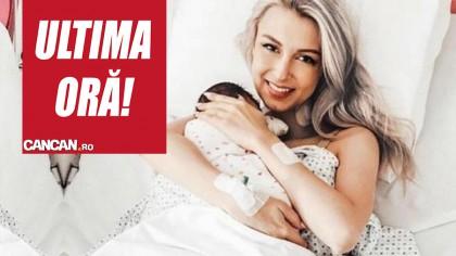 Andreea Bălan a fost operată din nou, de urgență. S-a trezit într-o baltă de sânge
