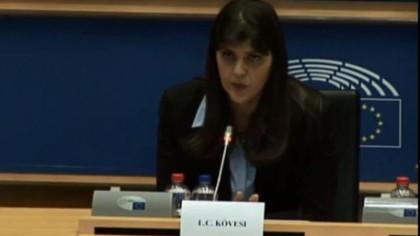 Laura Codruţa Kovesi, zile decisive, încep negocierile dintre Parlamentul European şi Consiliul European