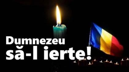 Doliu în România. A murit subit înainte de Sărbători, după o scurtă suferinţă. Înmormântarea va avea loc luni