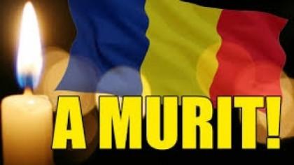 Este zi de doliu. S-a stins din viaţă un mare român