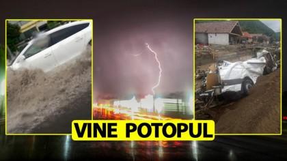 ANM a emis avertizare de furtuni și căderi de grindină. Ce zone sunt afectate și pentru cât timp