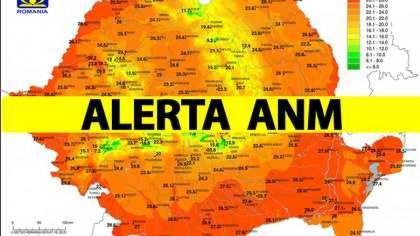 ALERTĂ METEO. Meteorologii avertizează: Va fi prăpăd în toată țara...