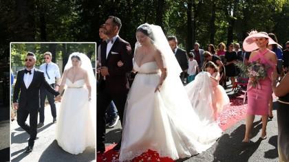 Scandal la nunta Gabrielei Cristea şi a lui Tavi Clonda! NU au ţinut cont că e o zi specială pentru ei