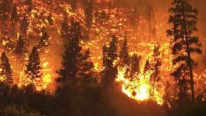 Video. Incendiu uriaș în Siberia. Fumul degajat este vizibil din spațiu