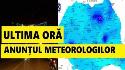 România, lovită de o masă de aer polar. Anunț neașteptat de la ANM pentru următoarea perioadă