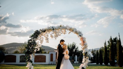 Andreea Bălan, în Paradis. Artista se căsătorește religios cu George Burcea. Cum arată în rochie de mireasă