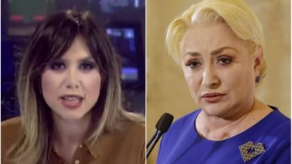 Denise Rifai A RĂBUFNIT! ATAC nemilos la Viorica Dăncilă: Este o anomalie politică și ... Ce îi pregătește prezentatoarea
