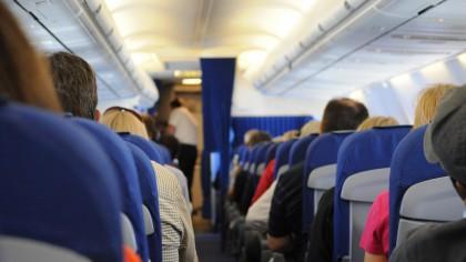 Cate grade sunt, de fapt, intr-un avion de pasageri