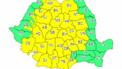 Nici meteorologii nu se așteptau la așa ceva! Ce se întâmplă cu vremea din România