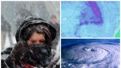 Vine IARNA în România. Vom avea temperaturi de până la -19 grade Celsius. Când lovește GERUL