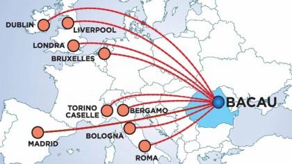 Aeroportul din Bacău se închide! Ce se întâmplă cu pasagerii care și-au cumpărat bilete? Poziția Blue Air