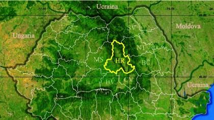 Primul caz de coronavirus în Harghita, singurul județ din România până acum fără nicio infecție