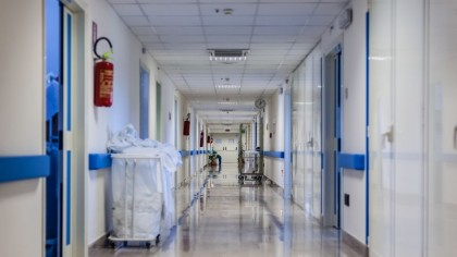 Urgenţa Spitalului Filiaşi, unde a fost internat primul român infectat cu coronavirus,rămâne închisă