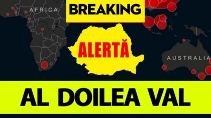 Veste șocantă pentru români: al doilea vârf al epidemiei de COVID-19 în România
