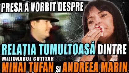 Andreea Marin, iubirea ascunsă a milionarului cuțitar Mihai Tufan